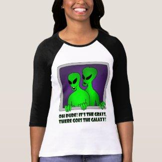 ALIEN GALAXY-6 shirt