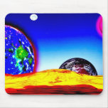 Alien Galaxy Mouse pad