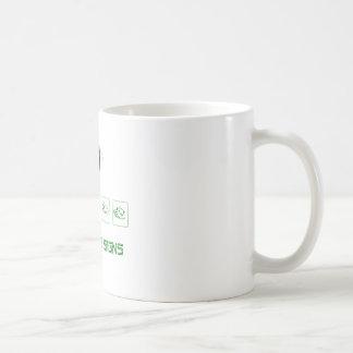Alien Gang Signs Coffee Mug