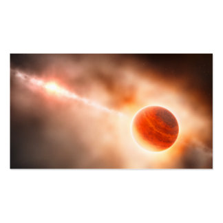 Alien Gas Giant Planet Space Art Business Cards