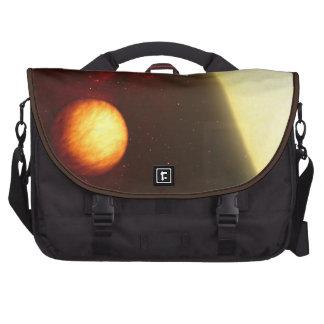 Alien Gas Giant Planet Space Art Laptop Computer Bag
