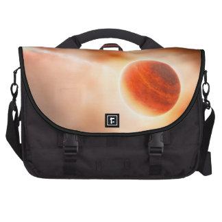 Alien Gas Giant Planet Space Art Computer Bag