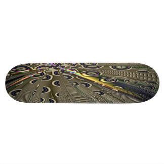 Alien Generator Abstract Art Skateboard