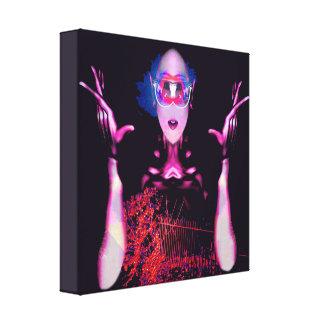 Alien Ghost Canvas Print