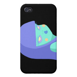 Alien Girl Cover For iPhone 4