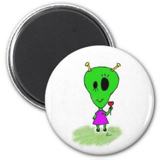Alien Girl Magnet