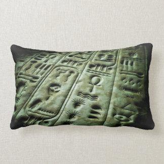 Alien Glyphs 04 Lumbar Pillow