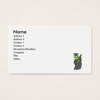 Alien Graduate Business Card