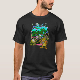 Alien Graffiti Artist t-shirt