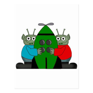 Alien Graphic Gifts Postcard