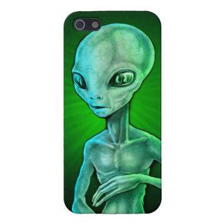 Alien Gray iPhone SE/5/5s Cover