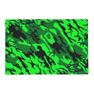Alien Green Camo Placemat