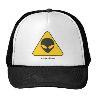 Alien Grey cap Mesh Hat