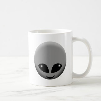 ALIEN GREY COFFEE MUG
