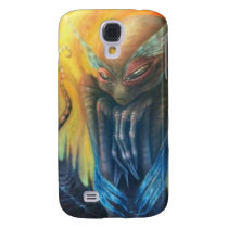 Alien Grey Owl Samsung Galaxy S4 Cover