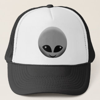 ALIEN GREY TRUCKER HAT