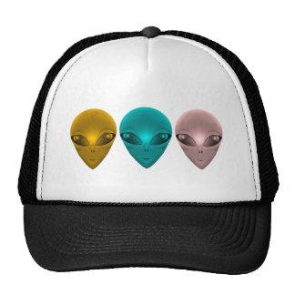 ALIEN GREY TRUCKER HAT