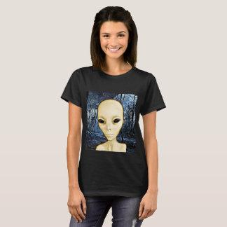 Alien Grey UFO Invasion Shirt