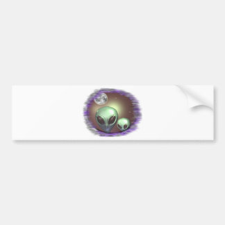 Alien Greys Items Bumper Sticker