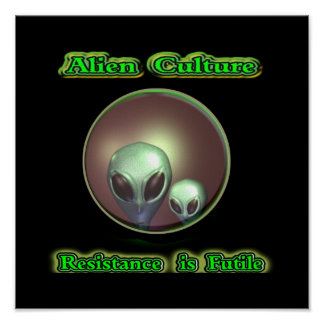 Alien greys poster