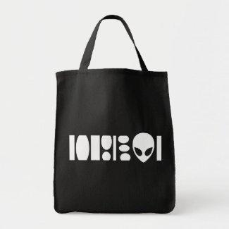 aLiEn Grocery Tote bag
