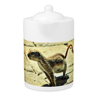 Alien Ground Squirrel Medium Tea Pot