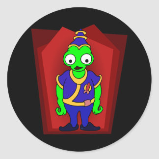 ALIEN Guard Classic Round Sticker