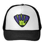 Alien Hand Print Trucker Hat