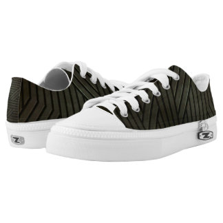Alien Hardcore Metal Grunge Low-Top Sneakers