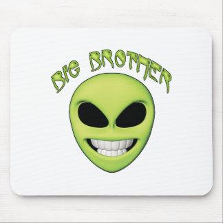 Alien Head Big Brother Mousepad