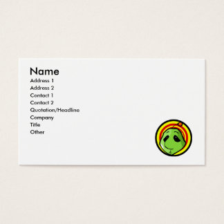 Alien Head Business Card