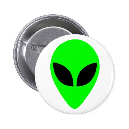 Alien Head Button