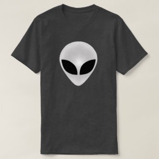 Alien Head Dark T-Shirt