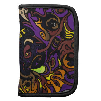 Alien Head Evil Species # 44 - purple 2 Organizers