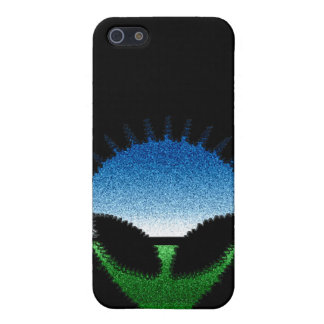 Alien Head - Glitter Face Reptilian or Grayling Cases For iPhone 5