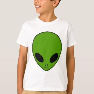 Alien Head Green T-Shirt