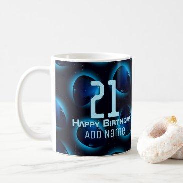 Halloween Themed Alien head in space coffee mug