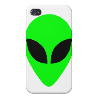 Alien Head iPhone Case Cover For iPhone 4