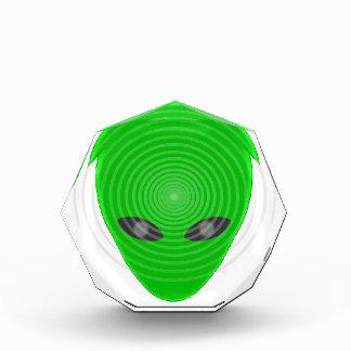 Alien Head Mind Control Acrylic Award