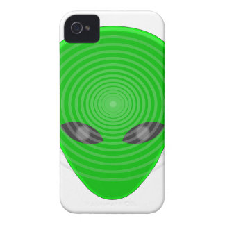 Alien Head Mind Control iPhone 4 Covers