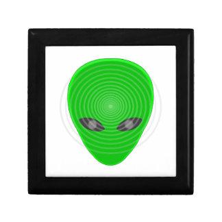 Alien Head Mind Control Jewelry Box