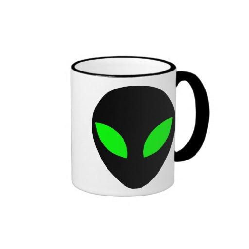 Alien Head Coffee Mug