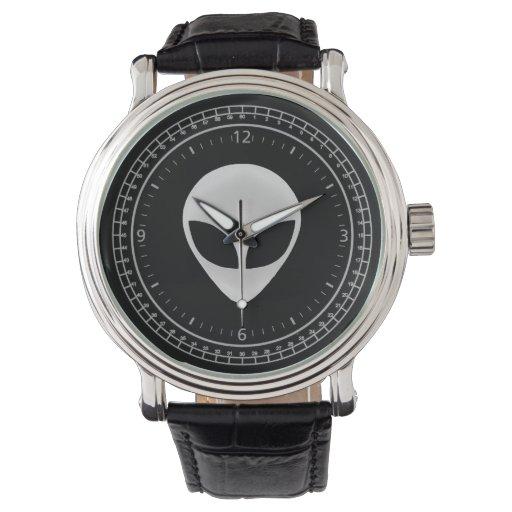 Zazzle Alien Head Watch
