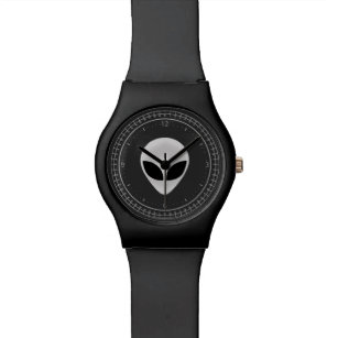 Alien Head Wrist Watch