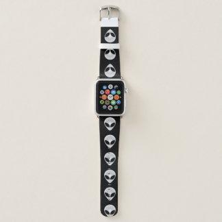 Alien Heads Apple Watch Band