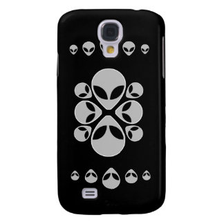 Alien Heads Galaxy S4 Case