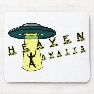 Alien Heaven Mouse Pad