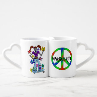 Alien Hippy Coffee Mug Set