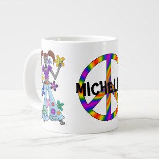 Alien Hippy Large Coffee Mug