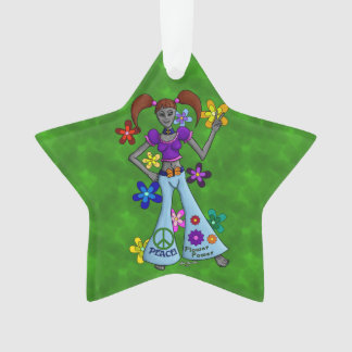 Alien Hippy Ornament